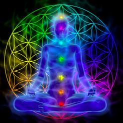 Aura- und Chakrareinigung mit Verwurzelung